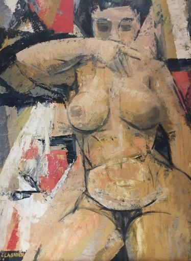 Jean-Maurice LASNIER - Peinture - Nu