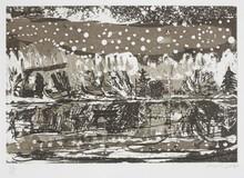 彼得•多伊格 - 版画 - Night Fishing