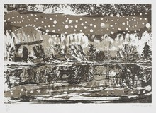 Peter DOIG - Print-Multiple - Night Fishing