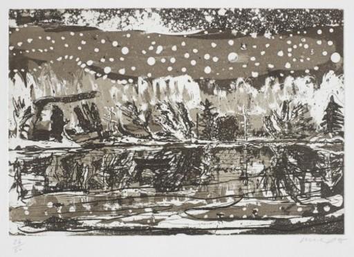Peter DOIG - Estampe-Multiple - Night Fishing