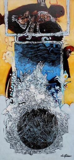 Lou FLORIAN - Painting - magicosphère