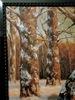Friedrich WACHENHUSEN - Peinture - Winterlandschaft, Waldrand am See