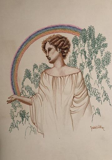 Isabel VILLAR ORTIZ DE URBINA - Dibujo Acuarela - Arco iris