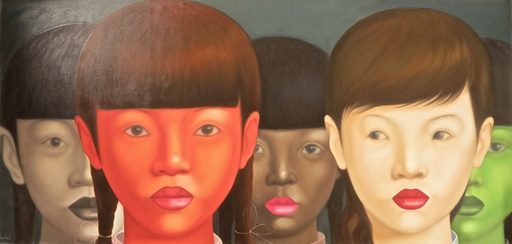 Jo CHANCHAI - Peinture - Eastern Beauties XVII