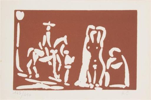 Pablo PICASSO - Grabado - Collection of Linocuts