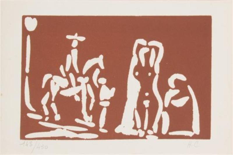 Pablo PICASSO - Stampa-Multiplo - Collection of Linocuts
