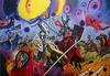 Alexander SAVKO - Gemälde - WAR FOR THE UNDEFINED: Two Kings