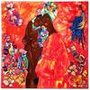 Irina BAST - Gemälde - New Gustav Klimt. Black women friends