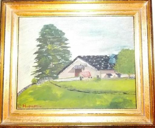 Charles-Albert HUGUENIN - Pintura - CHALET SUISSE