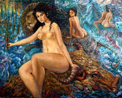 Victor BRINDATCH - Peinture - Jewish promater