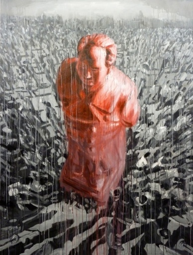 SHENG Qi - Pintura - Red Mao