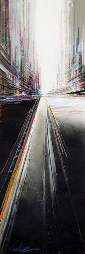 Leslie BERTHET LAVAL - Peinture - N30- Cité Urbaine
