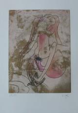 Roberto MATTA - Grabado - *F M R Oems od Sebastian Matta Portfolio of 10 pieces