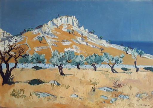Yves BRAYER - Pintura - Sicile