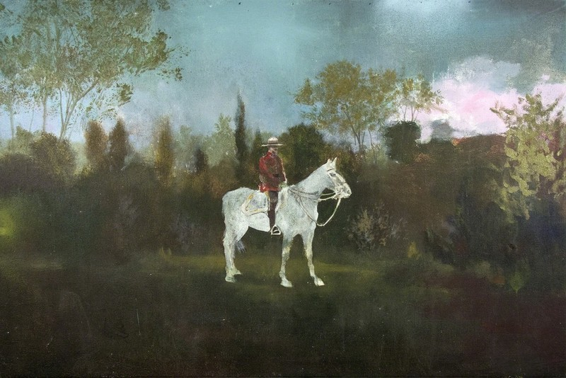 Peter HOFFER - Painting - Mountie II