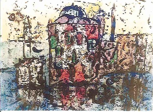Franco ROGNONI - Painting - Venezia 1965