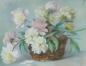 Marguerite DUBOIS DE PACÉ - Drawing-Watercolor - NATURE MORTE - STILL LIFE