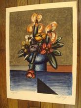 "Franz PRIKING (1929-1979) - ""Bouquet de fleurs""1970."