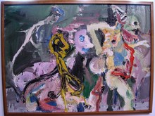 Bernard DAMIANO - Pintura - sans titre