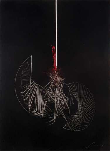 Emilio SCANAVINO - Painting - Appeso