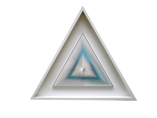 Alberto BIASI - Peinture - Torsione triangolare
