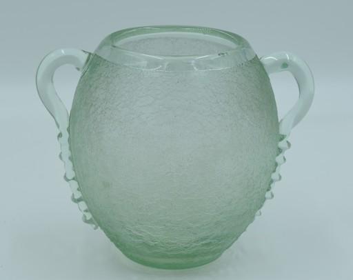 Antonin DAUM - Daum – Vase à anses Art Déco