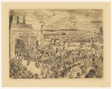 詹姆斯.恩索尔 - 版画 - Triomphe Romain