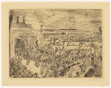 James ENSOR - Print-Multiple - Triomphe Romain