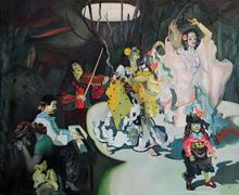 Maija TABAKA - Pintura - NIGHT