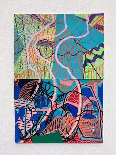 Johanna PACHECO SURRIABLE - Painting - « Réalités 002 »