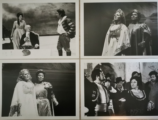 B.M. BERNAND - Photo - 4 tirages argentique de théâtre