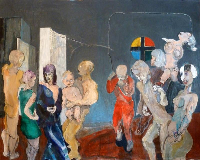 H. SCHLAGEN - Peinture - Lunatic Asylum - 2013