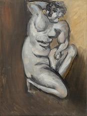 Henri MATISSE - Gemälde - Nu agenouillé