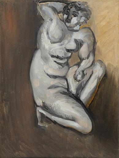 亨利·马蒂斯 - 绘画 - Nu agenouillé