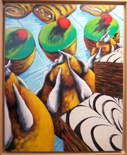 Philippe HORTALA - Pintura - les patisseries