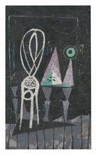 Marc MENDELSON - Pintura - Atelier avec chaise