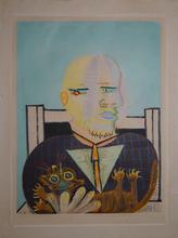 Pablo PICASSO - Print-Multiple - Vollard et son chat