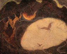 Frédéric COURAILLON - Painting - Prière au jardin des oliviers