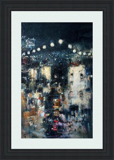 Levan URUSHADZE - Pittura - Night city # 3