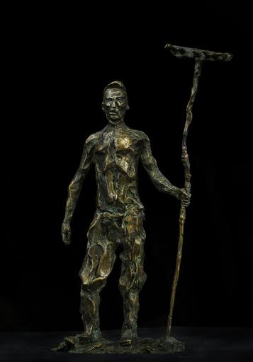Sasha SVIYAZOV - 雕塑 - The man with the rake. Hayfield