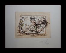 萨尔瓦多·达利 - 版画 - Tauramachie Surrealiste La Television