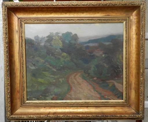 Stanislav LOLEK - Pintura - Forest path