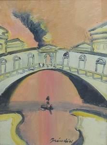 Remo BRINDISI - Painting - RIALTO