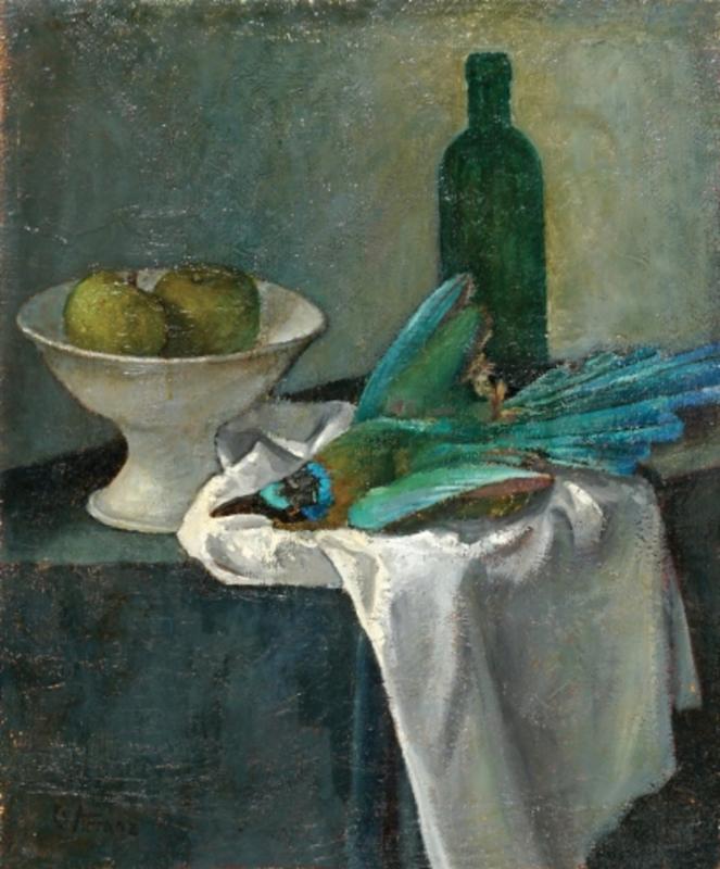 Ernst KRANTZ - Painting - Still Life