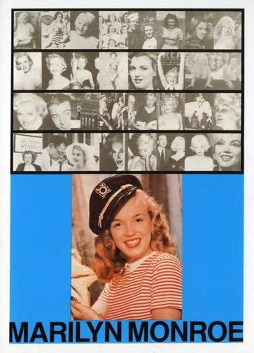 Peter BLAKE - Print-Multiple - M for Marilyn Monroe