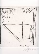 Alberto RAFOLS CASAMADA - Grabado - GRAVURE 1985 SIGNÉE AU CRAYON NUM/50 HANDSIGNED ETCHING