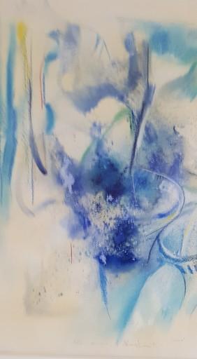 Enrico VISANI - Pintura - Symphonie en bleu