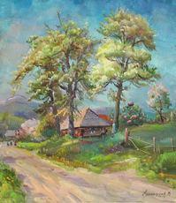 Vasil SVALJAVCIK - Pintura - Apfelbaum