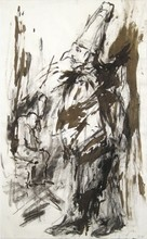 Per KIRKEBY - Drawing-Watercolor - Untitled