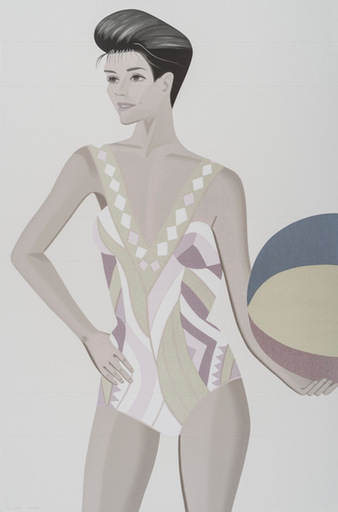 Alex KATZ - Print-Multiple - Chance 3 (Darinka)